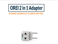 OREI | 2-in-1 Adapter